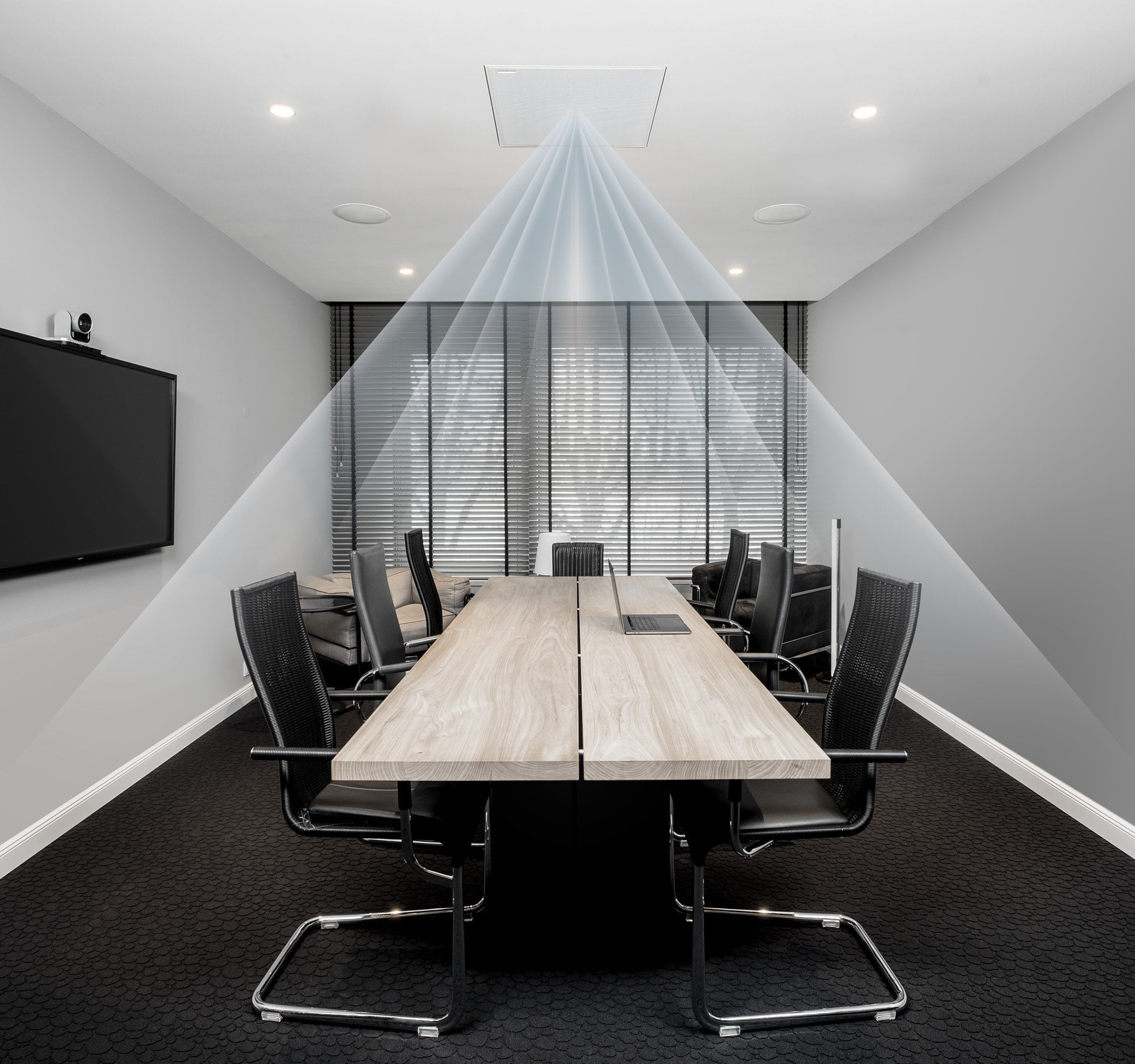 Eliminate Clutter & Include Everyone With Ceiling Microphones
